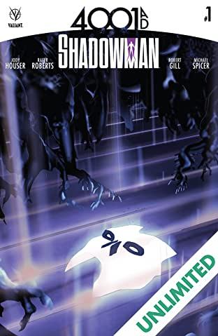 4001 A.D.: Shadowman #1: Digital Exclusives Edition